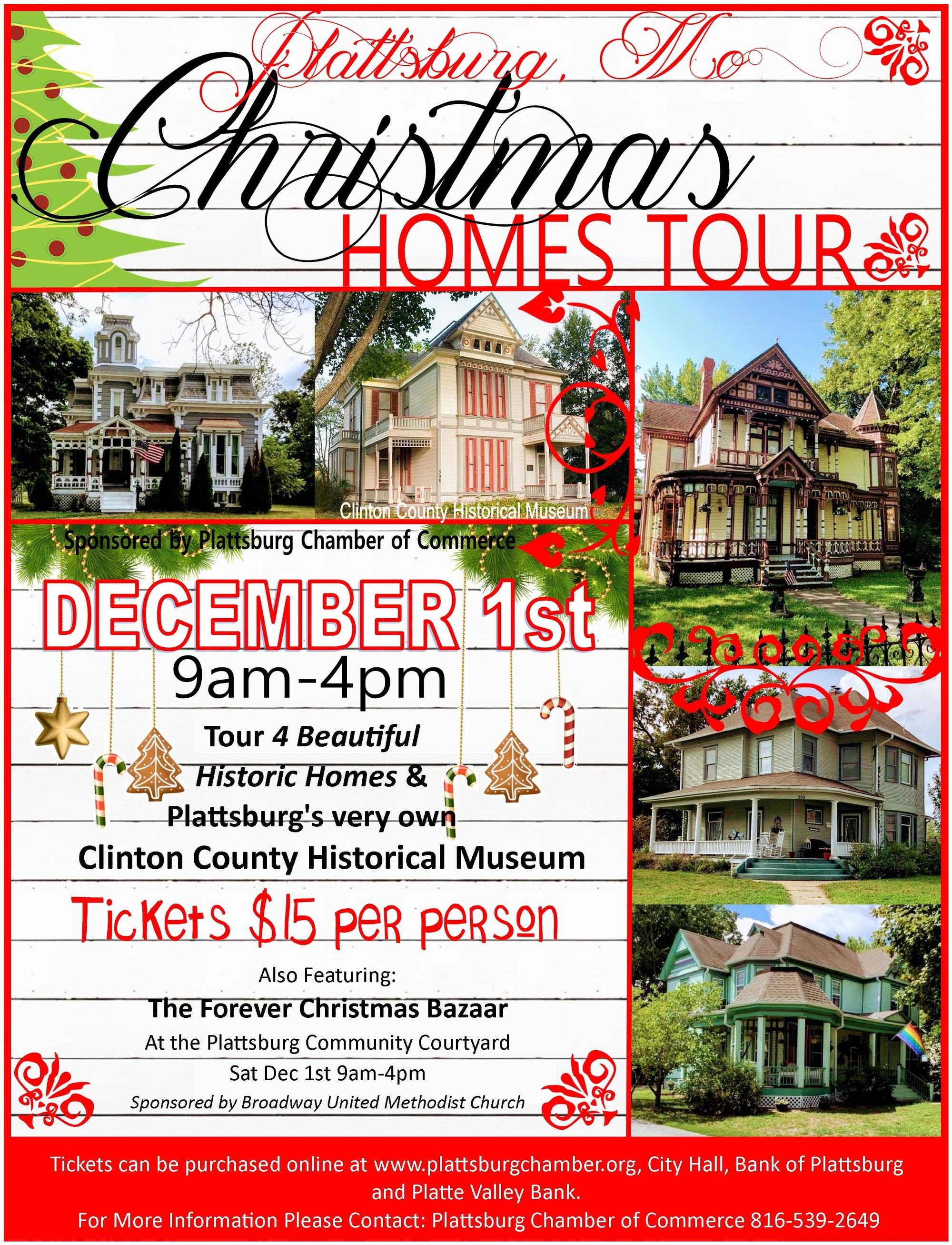 Christmas Homes Tour